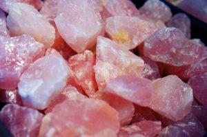 Ροζ Χαλαζίας (Rose Quartz)