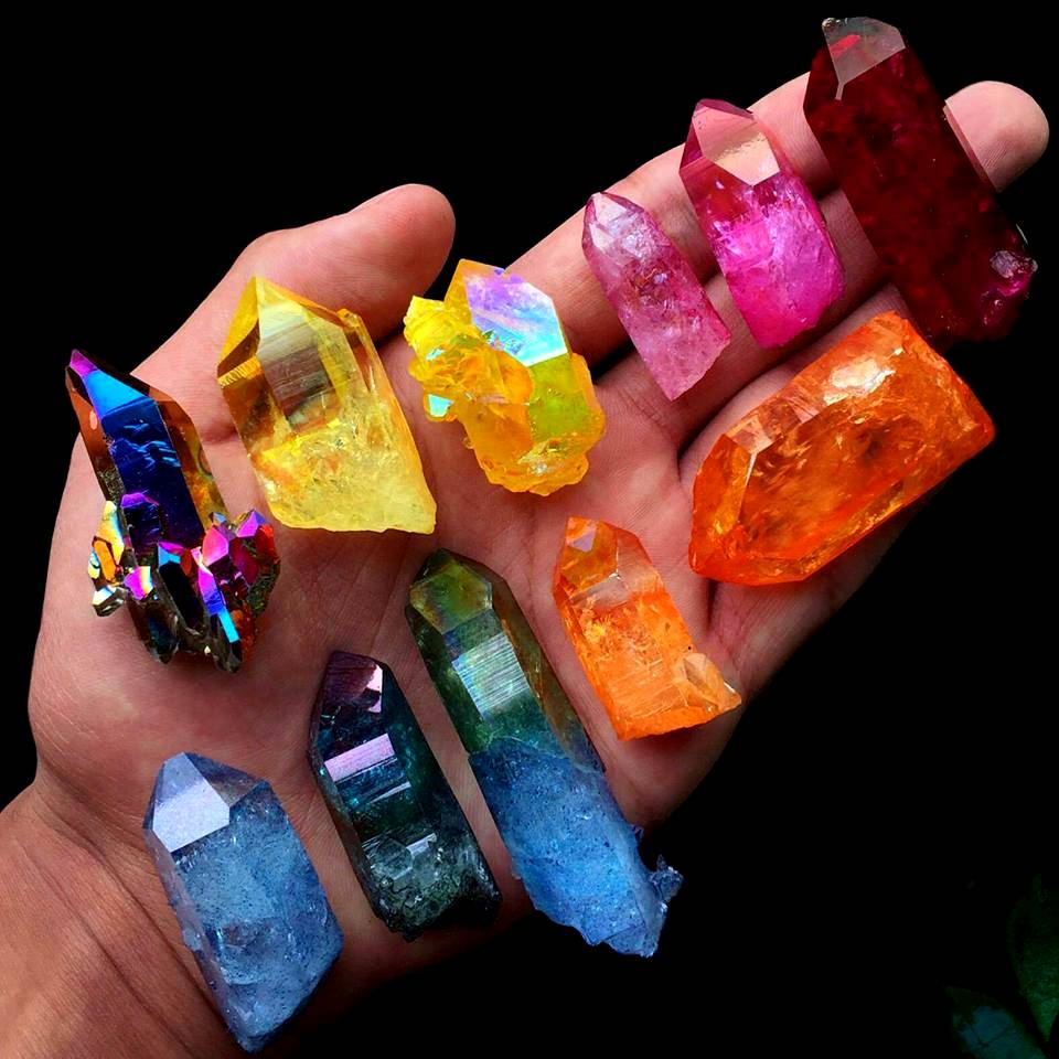 Οι θησαυροι της Γης – Τα υπεροχα χρωματα των ορυκτων