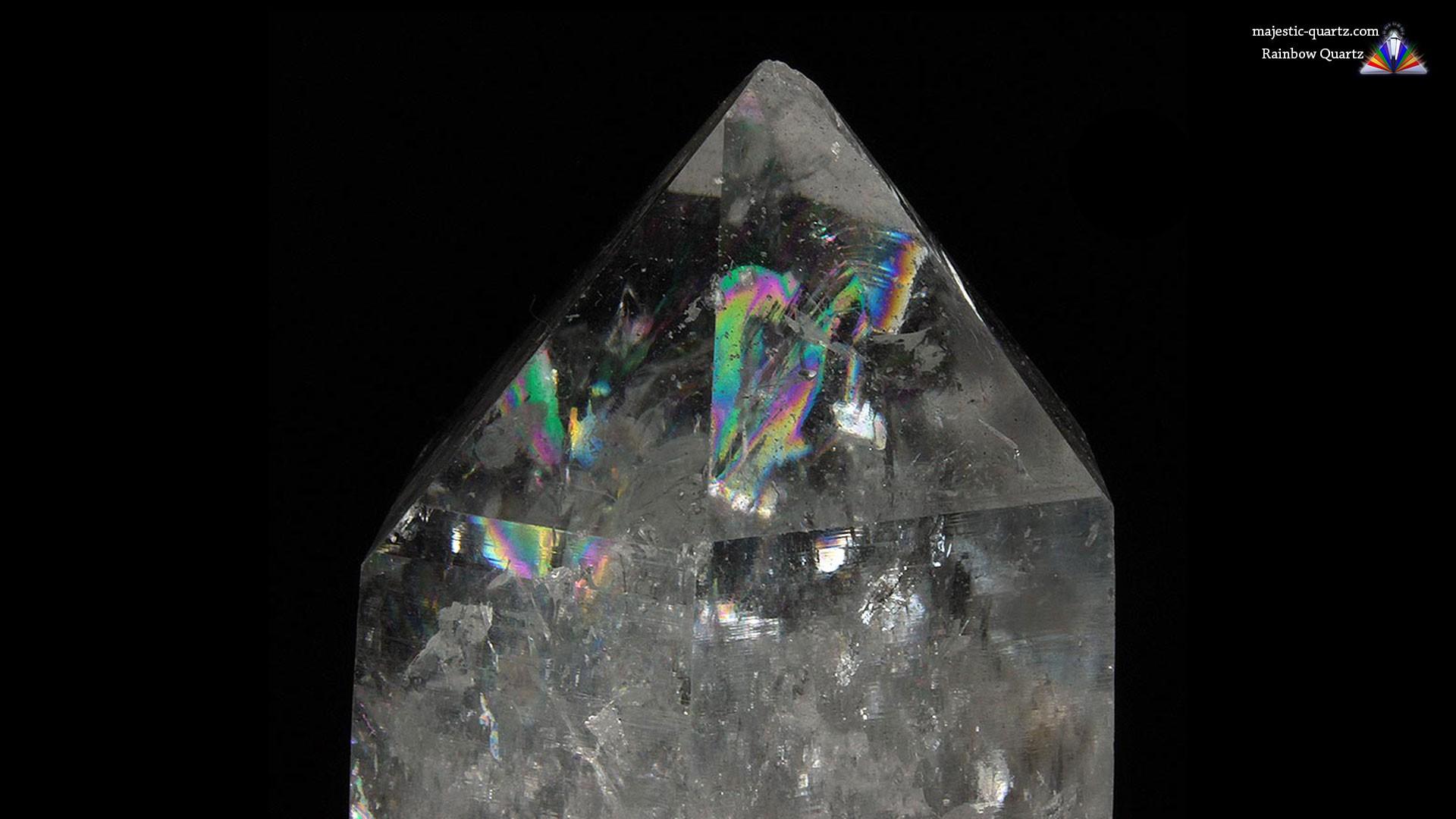 Κρύσταλλος Χαλαζίας Ουράνιο Τόξο
