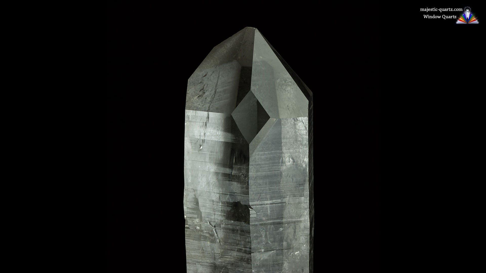 Κρύσταλλος Χαλαζίας Παράθυρο
