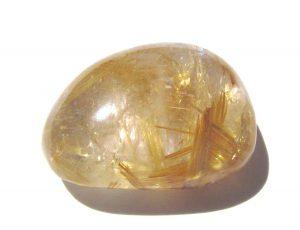 Κρύσταλλος Χαλαζίας με Ρουτίλιο